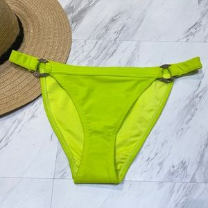 New! Topshop Ring High Leg Swim Bikini Bottoms 8